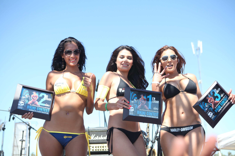 concurso de bikini semana de la moto